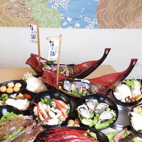 【基隆】 海之鮇火鍋文化館-四人帝王海陸雙饗宴