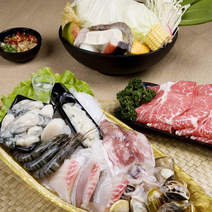 【基隆】海之鮇火鍋文化館-平日限定四人海陸套餐