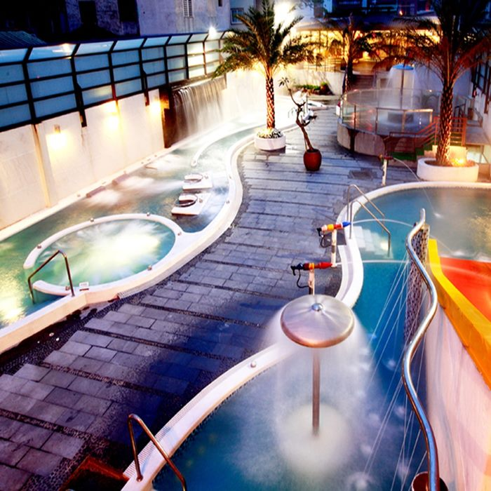 【礁溪】冠翔世紀溫泉會館-戶外風呂SPA+風味餐券