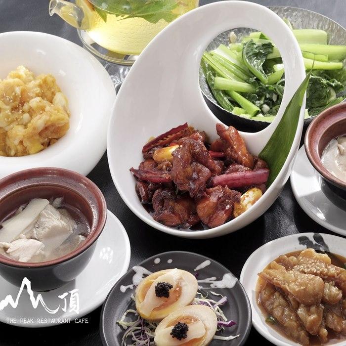 【陽明山】山頂餐廳-2人主廚創意料理套餐