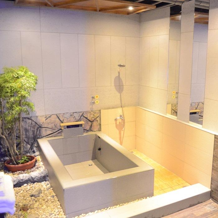 【礁溪】和風溫泉會館(德陽館)-標準雙人湯屋1H