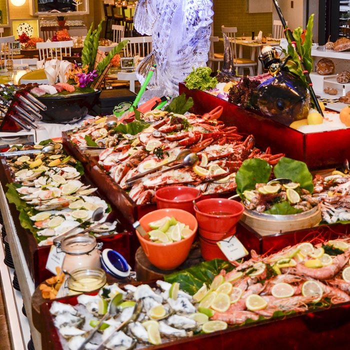 【台北W飯店】the kitchen table海鮮之夜自助晚餐吃到飽