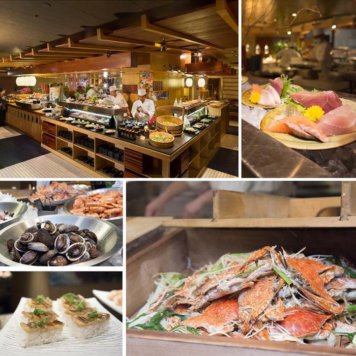 台北君悅酒店-彩日本料理午餐或晚餐自助餐單人券